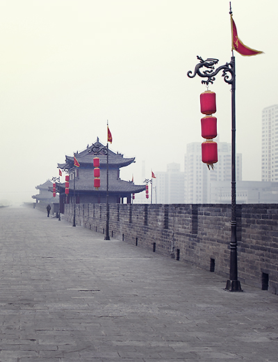 eddy-wenting-photography-china-wall-xi'an-mist