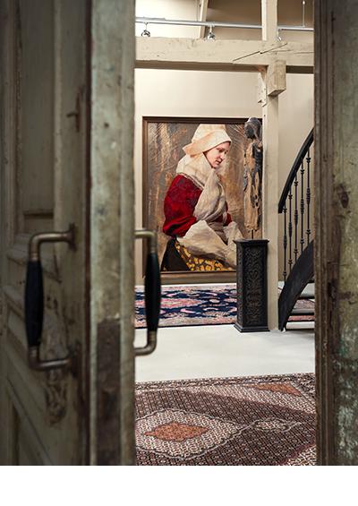 Lita Cabellut Gallery     The Hague 2014