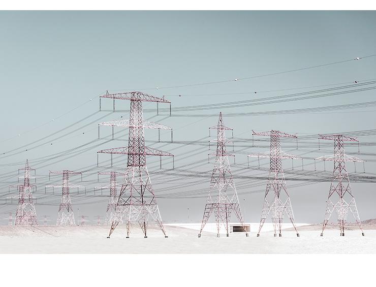 Electricity Pylons | Abu Dhabi 2015
