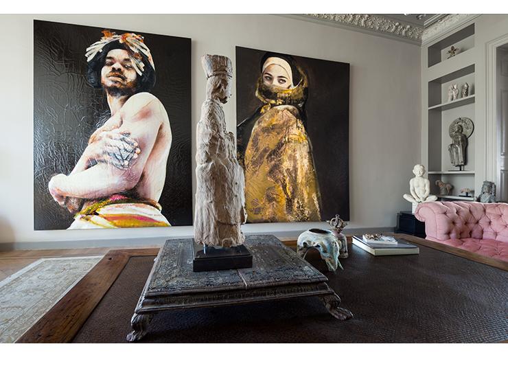 Lita Cabellut Interior Design |  The Hague 2013