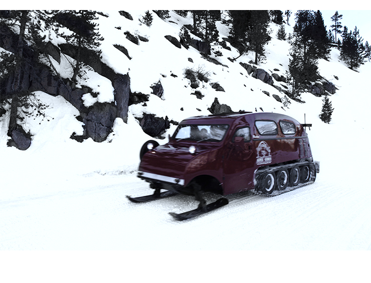 Snowcat  |  Yellowstone  2008